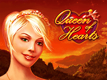 Онлайн игра с автоматом Queen Of Hearts